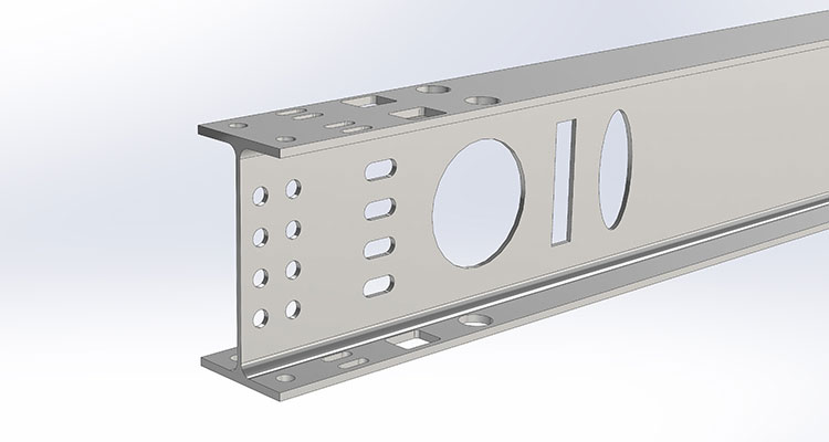 Beam Cutting Machine Rpc 600 1200 Hgg 3d Profiling