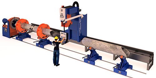 Pipe Square Tube Multiple Profile Cutting Machine