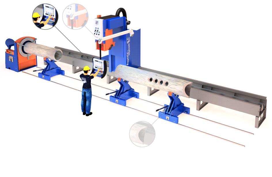 CAD to machine