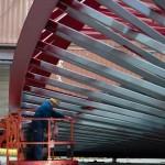 Painting the Vlaardingse Vaart bridge