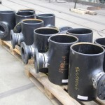 Fabricated spools in series
