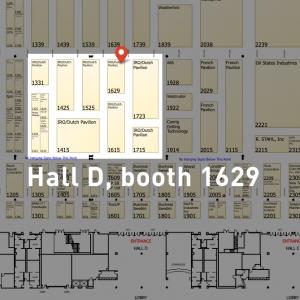 Booth 1629 OTC Hall D
