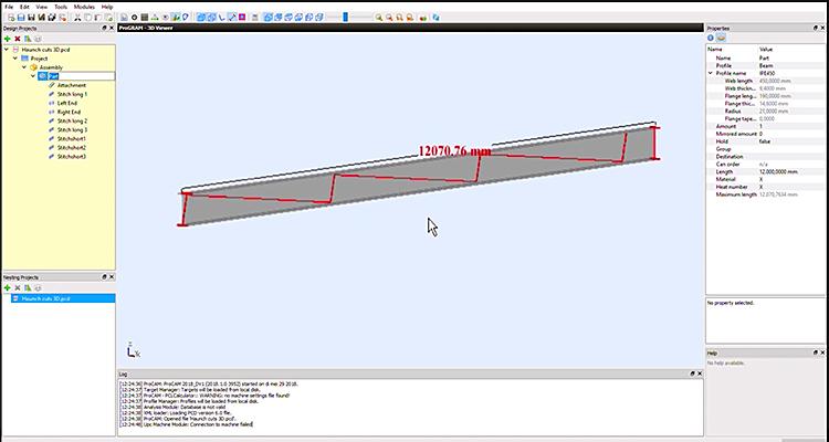 Create stitch macro in ProCAM